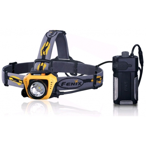 Fenix Light Fejlámpa HP30 LED Sárga