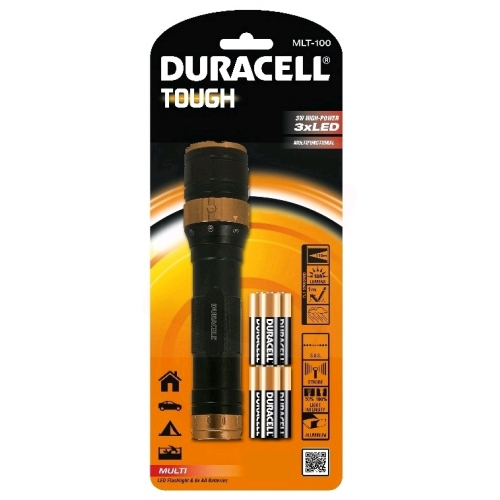 Duracell Elemlámpa Tough MLT-100 (+6AA) 3LED