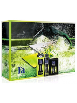 Fa Men Csomag: Sport Energy Boost Tusfürdő (250ml) + Dezodor (150ml) + After Shave (100ml)